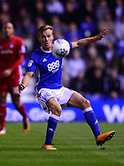 Maikel Kieftenbeld of Birmingham city in action, .EFL Skybet championship match, Birmingham city v Cardiff city at St.Andrew's stadium in Birmingham, the Midlands on Friday 13th October 2017.<br /> pic by Bradley Collyer, Andrew Orchard sports photography.