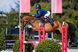 Dindane Rania, BEL, Diabolique TMS Z<br /> BK Young Horses 2020<br /> © Hippo Foto - Sharon Vandeput<br /> 6/09/20