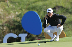 Oct 18, 2018-Jeju, South Korea-Billy Horschel of USA action on the 7th hall during the PGA Golf CJ Cup Nine Bridges Round 1 at Nine Bridges Golf Club in Jeju, South Korea.