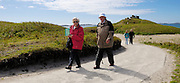 Isles of Scilly, 22 May 2009: Anne and Brian Horrell on Tresco. They spent their honeymoon on the Island 50 years ago and this was the first time that they had returned. Photo by Peter Horrell / http://peterhorrell.com