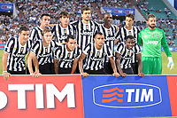 Formazione della Juventus<br /> Milan vs Juventus<br /> Trofeo Tim<br /> Triangolare di calcio Milan - Juventus - Sassuolo<br /> 23/07/2013 Reggio Emilia, stadio Mapei - Citta del Tricolore.<br /> Football 2013<br /> Foto Antonietta Baldassarre / Insidefoto