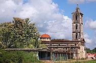 Church in San Miguel de los Banos, Cuba.
