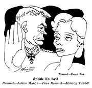Rommel - Desert Fox : James Mason and Jessica Tandy