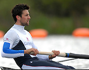 Caversham, Great Britain, Tom JAMES, GB Rowing media day at the Redgrave Pinsent Rowing Lake. GB Rowing Training centre. Tue. 29.04.2008  [Mandatory Credit. Peter Spurrier/Intersport Images] Rowing course: GB Rowing Training Complex, Redgrave Pinsent Lake, Caversham, Reading
