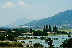 Yesa Reservoir in the Pyrenees in the province of Aragon.<br /> <br /> (c) Andrew Wilson   Edinburgh Elite media