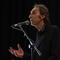 Will Self<br /> On stage at the Stoke Newington Literary Festival. 7 June 2015<br /> <br /> Picture by David X Green/Writer Pictures