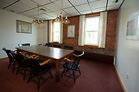 Conference room in the Busiel Mill at One Mill Plaza in Laconia.  (Karen Bobotas/for the Laconia Daily Sun)