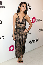 February 24, 2019 - West Hollywood, CA, USA - LOS ANGELES - FEB 24:  Praya Lundberg at the Elton John Oscar Viewing Party on the West Hollywood Park on February 24, 2019 in West Hollywood, CA (Credit Image: © Kay Blake/ZUMA Wire)