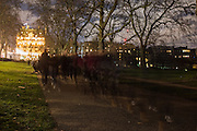 St. james's Park, London. 3 December 2016