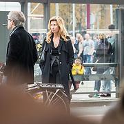 NLD/Amsterdam/20171014 - Besloten erdenkingsdienst overleden burgemeester Eberhard van der Laan, Fidan Ekiz