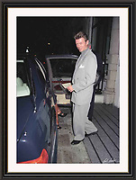 David Bowie Bury st<br /> Mayfair By Jack Ludlam<br /> A2 -  Museum-quality Archival signed Framed Print