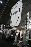 Fotball<br /> FotballExpo Expo<br /> Vallhall 1. - 3. juni<br /> 31.05.07<br /> Rosenborg sin stand klargjøres<br /> Foto - Kasper Wikestad