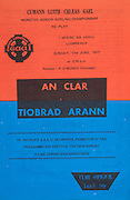Munster Senior Hurling Replay.12.06.1977  12th June 1977.Clare v Tipperary.Gaelic Grounds Limerick