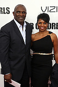 25 October 2010- New York, NY- Harry Carson and wife, Maribel at Tyler Perry's World Premiere of the Film 'For Colored Girls ' an Adaptation of Ntozake Shange's play ' For Colored Girls Who Have Considered Suicide When the Rainbow Is Enuf.' held at the Zeigfeld Theater on October 25, 2010 in New York City.
