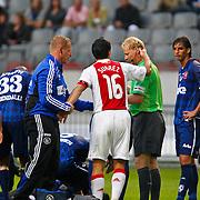 NLD/Amsterdam/20100731 - Wedstrijd om de JC schaal 2010 tussen Ajax - FC Twente, rode kaart voor Luis Suarez