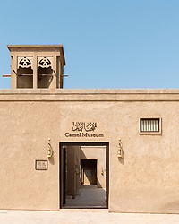 Camel Museum in Heritage area at Al Shindagha,Dubai United Arab Emirates
