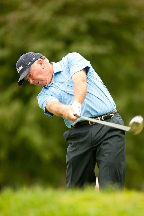 Mark O'Meara. 2009 Senior PGA Championship, Round 2. Pghotographed at Canterbury Golf Club in Beachwood, Ohio on Friday, May 22 2009. Photograph © 2009 Darren Carroll
