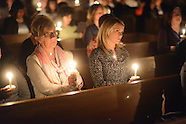 Anti-Domestic Violence Candlelight Vigil in Lower Makefield, Pennsylvania
