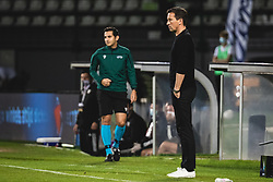 Roger Schmidt head coach of PSV Eindhoven during football match between NS Mura and PSV Eindhoven in Third Round of UEFA Europa League Qualifications, on September 24, 2020 in Stadium Fazanerija, Murska Sobota, Slovenia. Photo by Blaz Weindorfer / Sportida