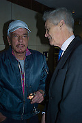 NICKY HASLAM; RICHARD KAY, Spectator Life - 3rd birthday party. Belgraves Hotel, 20 Chesham Place, London, SW1X 8HQ, 31 March 2015