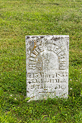 Stouts Grove Cemetery<br /> <br /> Johannes Guengerich