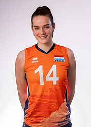 Nicole van de Vosse of Netherlands, Photoshoot selection of Orange women's youth volleybal team season 2021on june 15, 2021 in Arnhem, Netherlands (Photo by RHF Agency/Ronald Hoogendoorn)