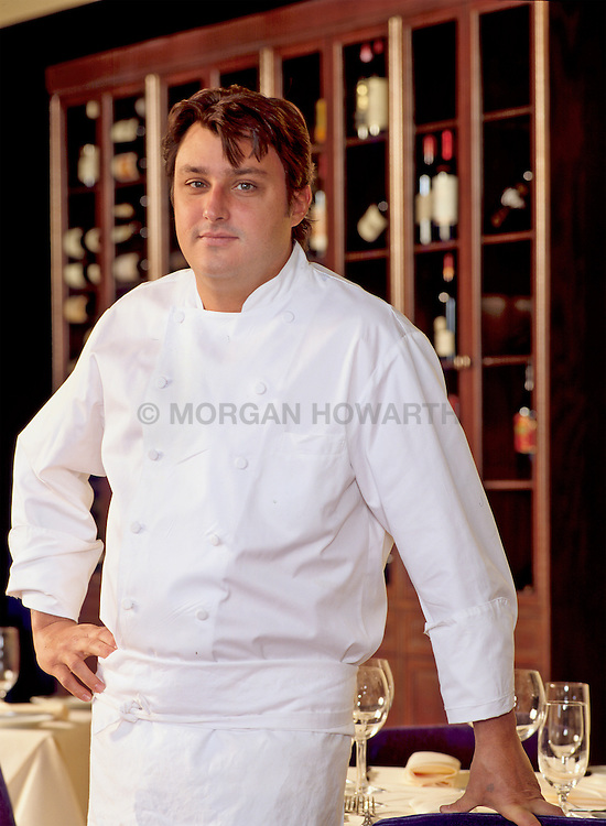 Chef Robert at Restaurant in Boston