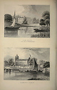 London Sion House (also Syon House Seat of the Duke of Northumberland) [Top] and Isleworth Church [Bottom] From the book Illustrated London, or a series of views in the British metropolis and its vicinity, engraved by Albert Henry Payne, from original drawings. The historical, topographical and miscellanious notices by Bicknell, W. I; Payne, A. H. (Albert Henry), 1812-1902 Published in London in 1846 by E.T. Brain & Co