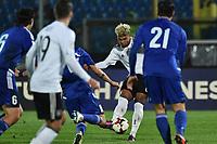 il gol di Serge Gnabry Germania. Goal celebration.<br /> San Marino 10/8/2011. Rep. San Marino Vs Germany.Football Calcio gara amichevole. .Foto Andrea Staccioli Insidefoto