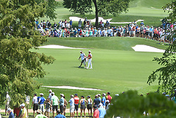August 10, 2018 - St. Louis, Missouri, U.S. - ST. LOUIS, MO - AUGUST 10: A view of the large crowds during the second round of the PGA Championship on August 10, 2018, at Bellerive Country Club, St. Louis, MO.  (Photo by Keith Gillett/Icon Sportswire) (Credit Image: © Keith Gillett/Icon SMI via ZUMA Press)