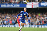Eden Hazard of Chelsea in action. Premier league match, Chelsea v Leicester city at Stamford Bridge in London on Saturday 15th October 2016.<br /> pic by John Patrick Fletcher, Andrew Orchard sports photography.