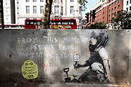 Banksy marble arch