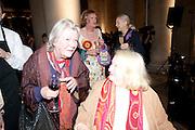 LYNN BARBER; GRAYSON PERRY; GILLIAN AYRES, Turner Prize 2010. Tate Britain. Millbank. London. 6 December 2010. -DO NOT ARCHIVE-© Copyright Photograph by Dafydd Jones. 248 Clapham Rd. London SW9 0PZ. Tel 0207 820 0771. www.dafjones.com.
