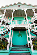 Colorful building on Green Turtle Cay, Bahamas.