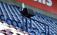 Loudspeakers in the stands provide crowd noise to encourage the Preston North End players as fans continue to be denied access to live games during the Covid-19 pandemic<br /> <br /> Photographer Rich Linley/CameraSport<br /> <br /> The EFL Sky Bet Championship - Preston North End v Sheffield Wednesday - Saturday 21st November 2020 - Deepdale - Preston<br /> <br /> World Copyright © 2020 CameraSport. All rights reserved. 43 Linden Ave. Countesthorpe. Leicester. England. LE8 5PG - Tel: +44 (0) 116 277 4147 - admin@camerasport.com - www.camerasport.com