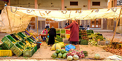 Market stall in Tinghir, southerm Morocco<br /> <br /> (c) Andrew Wilson   Edinburgh Elite media