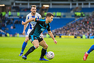 Wes Hoolahan (West Brom) during the FA Cup fourth round match between Brighton and Hove Albion and West Bromwich Albion at the American Express Community Stadium, Brighton and Hove, England on 26 January 2019.