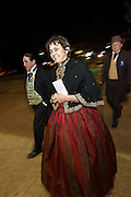 CHARLESTON, SC - DECEMBER 20: Guests in period costume arrive for the Secession Ball December 20, 2010 commemorating the 150th Anniversary of South Carolina's Secession from the Union in Charleston, SC.  South Carolina was the first state to secede resulting in the US Civil War.  (Photo by Richard Ellis/Getty Images)