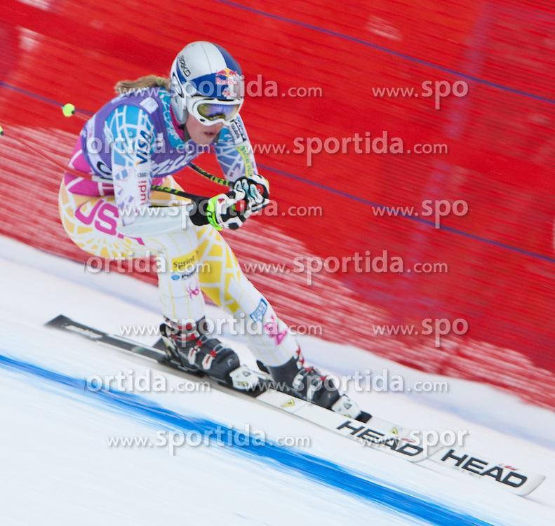 19.01.2011, Tofana, Cortina d Ampezzo, ITA, FIS World Cup Ski Alpin, Lady, Cortina, Abfahrt 1. Training, im Bild Lindsey Vonn (USA, #15) // Lindsey Vonn (USA) during FIS Ski Worldcup ladies downhill first training at pista Tofana in Cortina d Ampezzo, Italy on 19/1/2011. EXPA Pictures © 2011, PhotoCredit: EXPA/ J. Groder