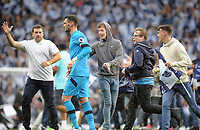 Football - 2016 / 2017 Premier League - Tottenham Hotspur vs. Manchester United<br /> <br /> Tottenham fans invade the pitch at the final whistle to greet Hugo Lloris at White Hart Lane.<br /> <br /> COLORSPORT/ANDREW COWIE