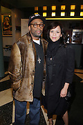 l to r: Spike Lee and Rosie Perez at The ImageNation celebration for the 20th Anniversary of ' Do the Right Thing' held Lincoln Center Walter Reade Theater on February 26, 2009 in New York City. ..Founded in 1997 by Moikgantsi Kgama, who shares executive duties with her husband, Event Producer Gregory Gates, ImageNation distinguishes itself by screening works that highlight and empower people from the African Diaspora.