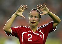 Fotball<br /> VM kvinner 2007<br /> 15.09.2007<br /> Canada v Ghana 4-0<br /> Foto: imago/Digitalsport<br /> NORWAY ONLY<br /> <br /> Kristina Kiss (Kanada)