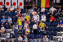 Belgium supporters<br /> Olympic Games Tokyo 2021<br /> © Hippo Foto - Dirk Caremans<br /> 07/08/2021