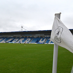 TELFORD COPYRIGHT MIKE SHERIDAN A general view of the New Bucks Head during the Vanarama National League Conference North fixture between AFC Telford United and Spennymoor Town on Saturday, November 16, 2019.<br /> <br /> Picture credit: Mike Sheridan/Ultrapress<br /> <br /> MS201920-030