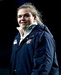 Sarah Bern of England - Mandatory by-line: Robbie Stephenson/JMP - 04/02/2017 - RUGBY - Twickenham - London, England - England v France - Women's Six Nations