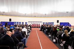 Presentation of cycling club KK Adria Mobil before new season 2019, on February 14, 2019 in Velodrom Cesca vas, Novo mesto, Slovenia. Photo by Vid Ponikvar / Sportida