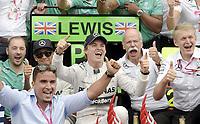 Sieger Nico Rosberg (Mercedes)  und sein Team<br /> Formel 1, Grosser Preis Santander von Deutschland 2014, Hockenheimring<br /> Norway only<br /> F1