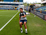 Mason Bennett of Millwall not involved because his on loan from Derby County during EFL Sky Bet Championship between Millwall and Derby County at The Den Stadium, Saturday, June 20, 2020, in London, United Kingdom. (ESPA-Images/Image of Sport)