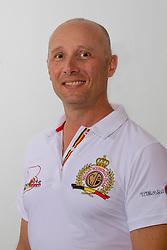 Devroe Jeroen, BEL<br /> Voorstelling Team Belgium for the<br /> World Equestrian Games - Tryon 2018<br /> © Hippo Foto - Dirk Caremans<br /> 22/08/2018