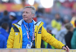 March 22, 2019 - Planica, Slovenia - Walter Hofer race director is seen during the FIS Ski Jumping World Cup Flying Hill Individual competition in Planica. (Credit Image: © Milos Vujinovic/SOPA Images via ZUMA Wire)